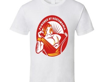 Powered By Hulkamania Tshirt