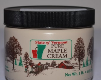 Lb. of Pure VT Maple Cream
