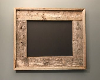 Rustic Handmade Picture Frame Display