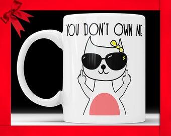 Funny Mug  Cat Lover Gift Mug Cat Lovers Gift Mug Cat Lady Mug Cat Coffee Mug Cat Coffee Mugs Statement Mug Cat Mug Cat Lover Mug Funny Cat