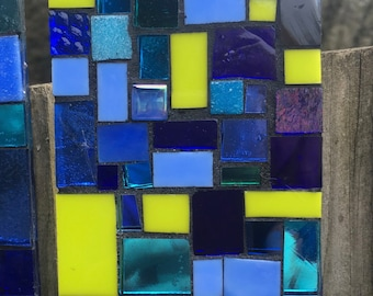 Stained Glass Mosaic Wall Tile, 14