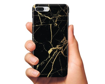 Black Gold marble case phone case marble black iPhone case marble gold case Samsung bleck gold marble case phone marble bleck case gold case
