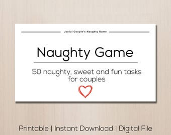 Naughty sex games for adults