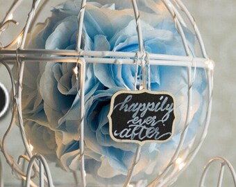 Cinderella Carriage Wedding Centerpiece