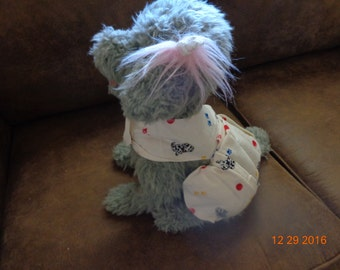 Pet Comfor Vest-Extra Small-dogs/paw print/ball