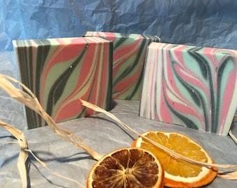 Citrus Patchouli Cold Process Soap