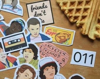 Stranger Things - sticker pack