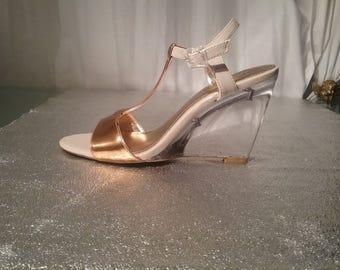 Sandals vintage Calvin Klein before custody, evening, wedding exit, exceptional piece