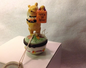 Winnie the Pooh as an angel Trick or Teat  Disney by Midwest of Cannon Falls
