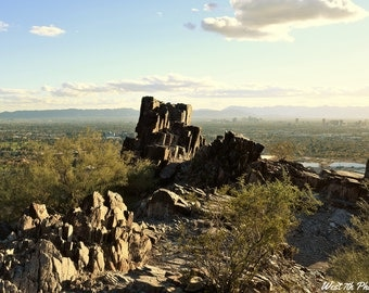 Phoenix Arizona, American Southwest, Mountains, Piestewa Peak, Desert Mountain Preserve, Nature photography, Southwest, Fine art photography