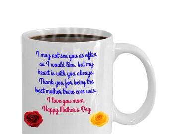 Mother's Day ceramic coffee mug