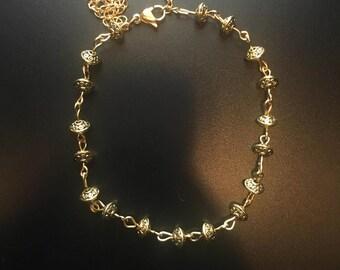 Chelsea Anklet Gold