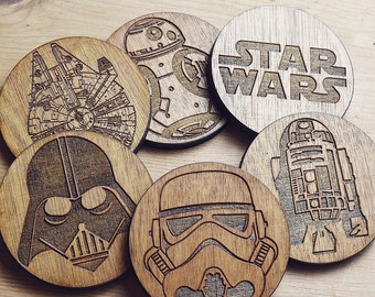 Star Wars set of 6 Coasters