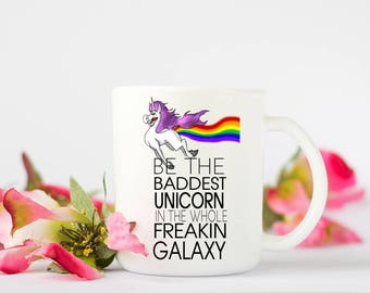 Unicorn coffee mug, Unicorn Mug, funny unicorn quote. Ideal gift, for the unicorn lover. Quirky unicorn quote.