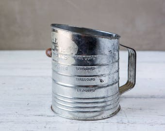 Weathered Vintage Sifter-Food Photography Props