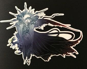 Final Fantasy XV & XIII Title Art Sticker