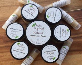 Natural Vegan Deodorant Paste