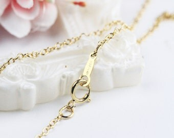 18inch 1.7mm 14K Gold Filled Chain