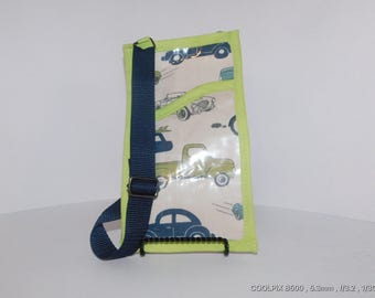 Childrens invitation and tract bag with adjustable strap