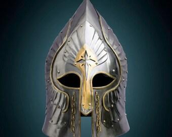 Helmet General Gondror helmet LOTR SCA LARP armour armor larp helmet larp armor fantasy helmet sca helmet lotr armor fantasy armor sca armor