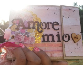 "Mini album ""amore mio"""