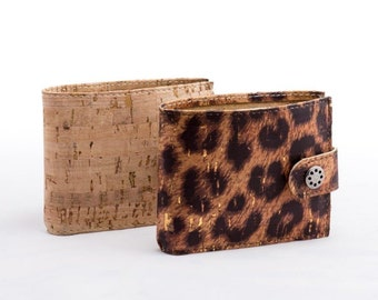 Cork Wallet   Fold-Over Wallet   Women's Vegan Wallet   17 Different Colors