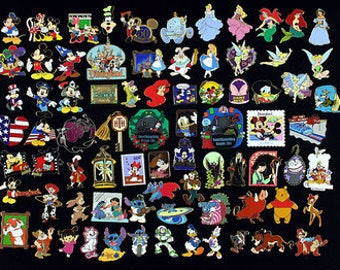 25 Disney Pins (FREE SHIPPING)