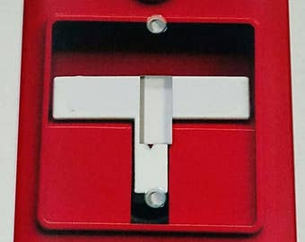 Fire Alarm Metal Light Switch Plate