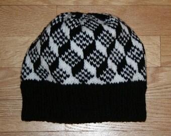Escher Style Knit Hat