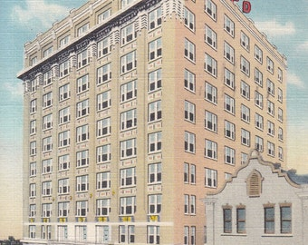 Jacksonville, Florida Vintage Postcard - Hotel Seminole, Native Indian Artifacts