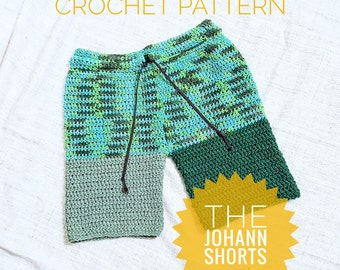 Crochet Pattern/Custom/Crochet Shorts/MakeitYourself/GagGift/Fathersdaygift