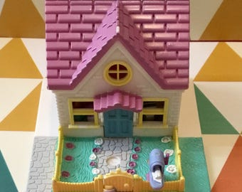 Polly Pocket vintage Cozy Cottage (Bluebird 1993)