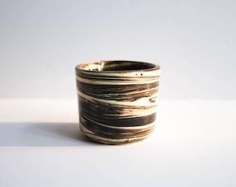 Marbled Ceramic Jar