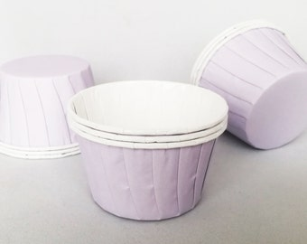 High Quality Pleated Lilac Baking Cups Cupcake Cases Muffin Cups