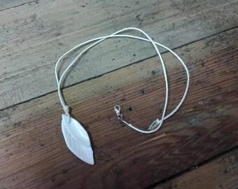 Handmade porcelain pendant