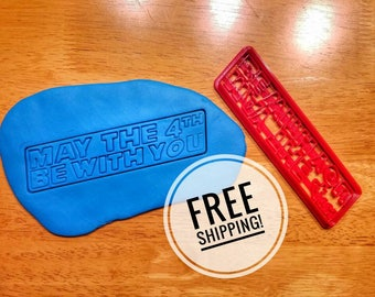 May the 4th be with you Star Wars Cookie Cutter