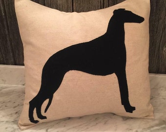 Whippet Cushion Cover
