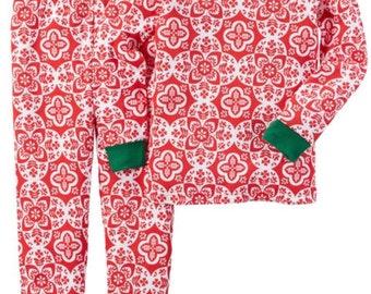 Girls Personalized Christmas Pajamas
