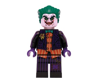 LEGO minifigures Custom -  Joker Made with Original LEGO Parts