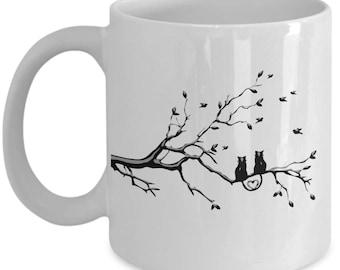 Cat Love Mug - Love Cats Mug - Love Mug - Coffee Mug