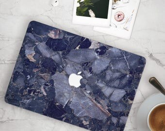 Deep Blue Marble MacBook Case, MacBook Hard Case, MacBook Air Protection, MacBook Pro 2016 Touch Bar Case, MacBook Pro Retina Hard Case