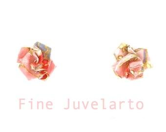 Flower Earring Rose