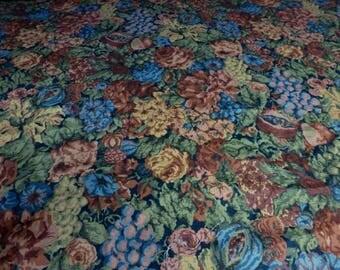 "Yardage - Vintage Cyrus Clark ""Byron"" pattern - Lightweight Tapestry look fabric"