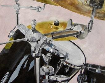 Drum set still life