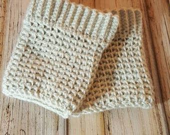 Crocheted Boot Cuffs