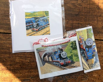 Thomas the Tank Engine Book Bunting + card