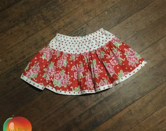 Valentines Twirly Skirt ~ Size 5