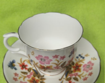 Staffordshire Crown 1801 Bone China Tea Cup. 60% off