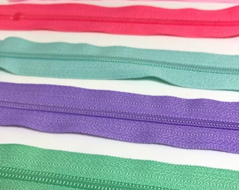 8 inch Zips,colurful zips, zippers ,8 inch zips, dressmaking, bag zips, haberdashery, sewing supplies