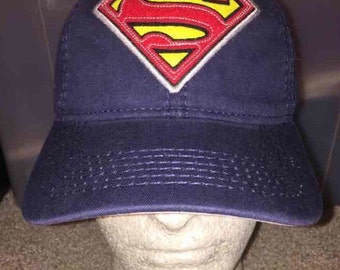 NWT Superman DC comics adjustable hat new with tag
